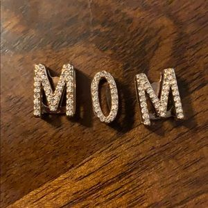 Keep Collective rose gold pave MOM